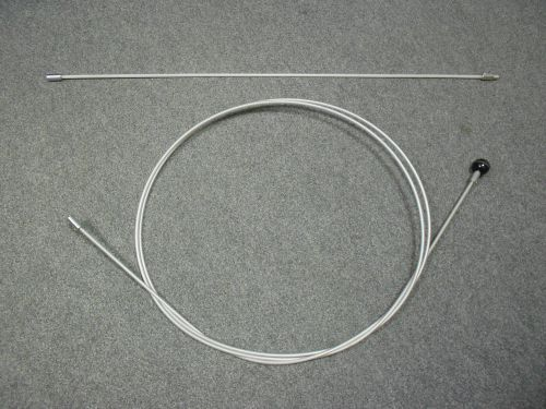Sklolaminátové nástavce 7mm